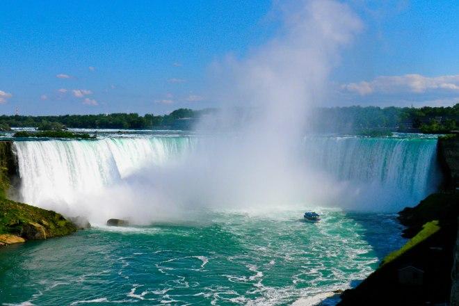Niagara Falls vistas desde Canadá