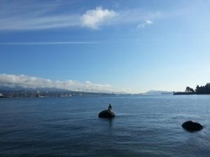 Girl in a Wetsuite, la sirenita de Vancouver