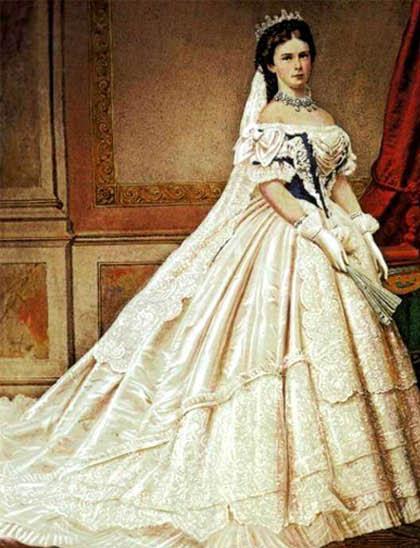 1867 sissi coronation worth dress
