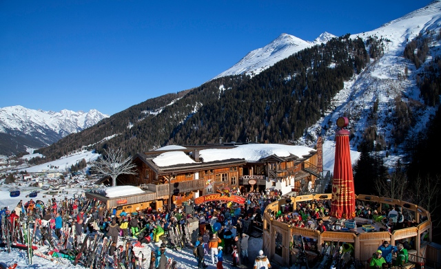 Tarde de Aprés-Ski en el Mooserwirt de St. Anton