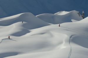 St. Anton es una de las zonas con más nieve de Europa. © TVB St. Anton am Arlberg / Josef Mallaun