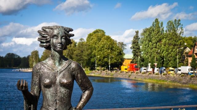Sola i Karlstad (El Sol en Karlstad)
