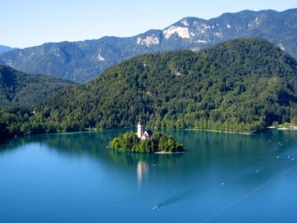 El Lago de Bled.