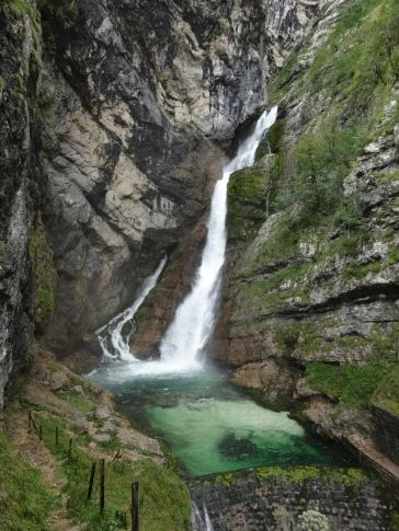 La cascada Slap Savica