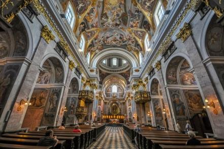 La catedral de San Nicolás.